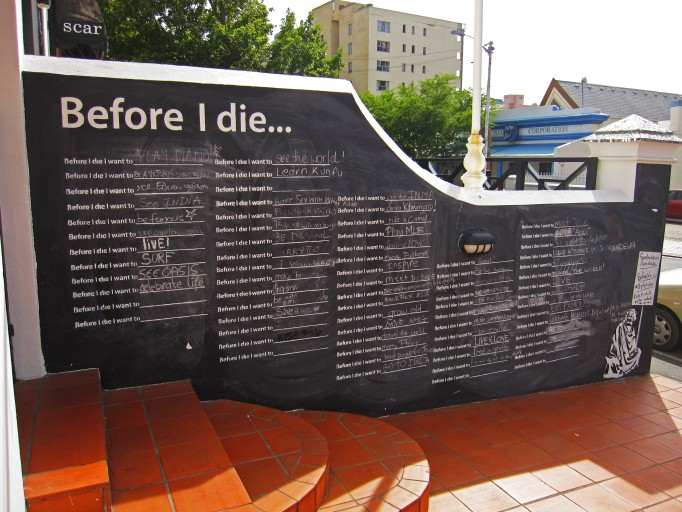 before i die south africa