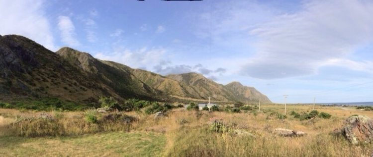 Hills of Cape Palliser